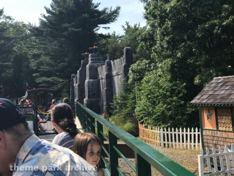 Thomas the Tank Engine Train Ride at Edaville Family Amusement Park