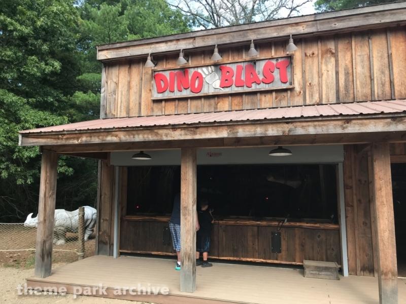 Dino Land at Edaville Family Amusement Park