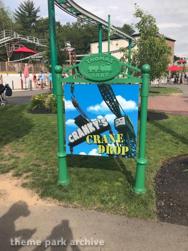 Cranky's Crane Drop at Edaville Family Amusement Park