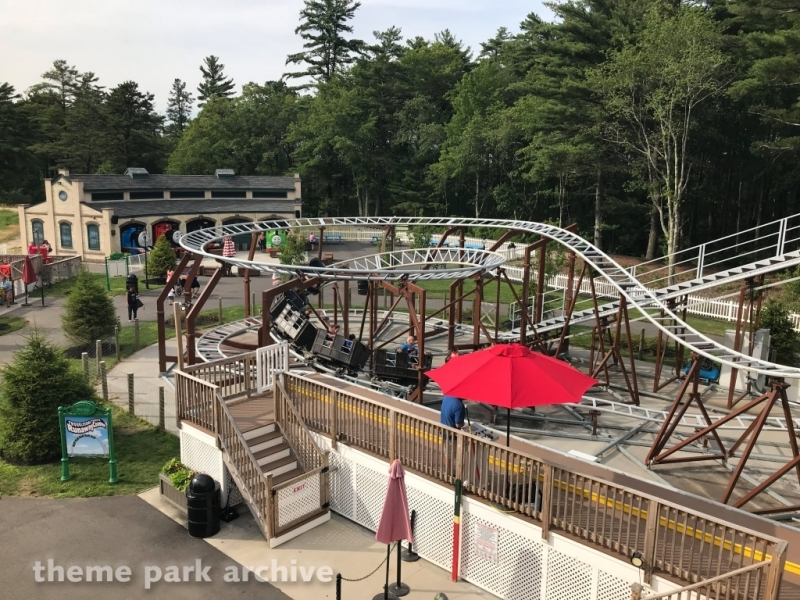 Troublesome Trucks Runaway Coaster at Edaville Family Amusement Park