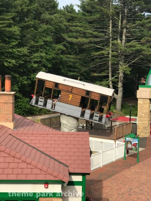 Toby's Tilting Tracks at Edaville Family Amusement Park