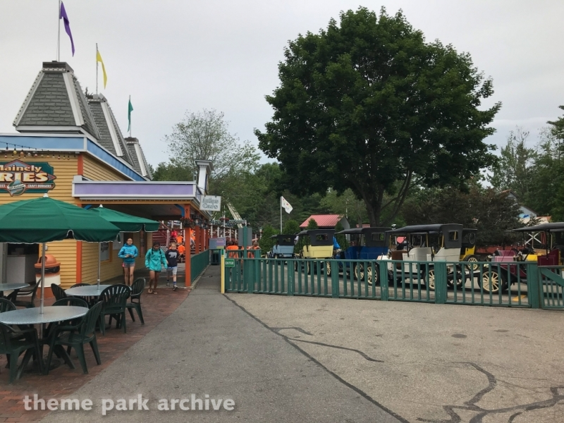 Antiques Cars at Funtown Splashtown USA