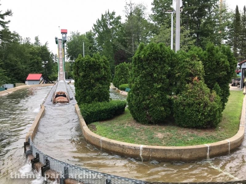 Thunder Falls Log Flume at Funtown Splashtown USA