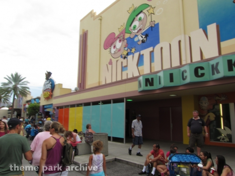 Jimmy Neutron Nick Toon Blast at Universal Studios Florida