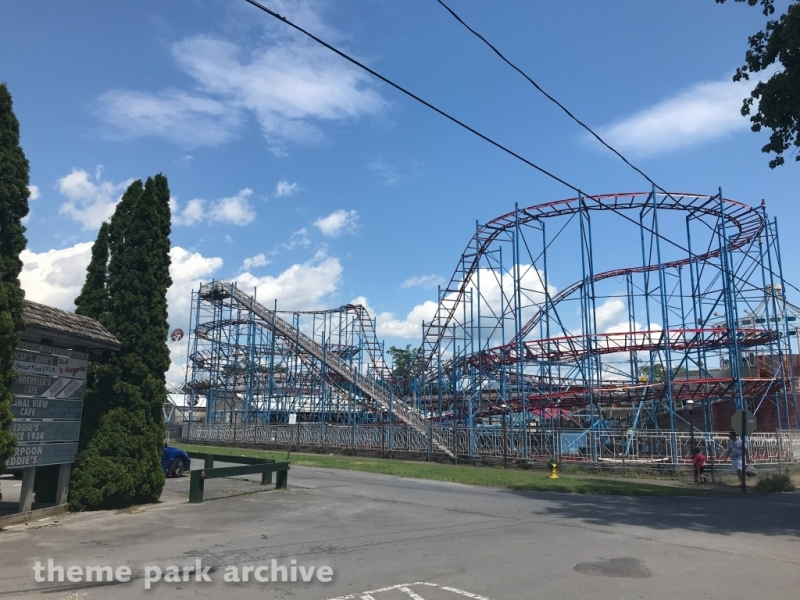 Galaxi Coaster at Sylvan Beach Amusement Park
