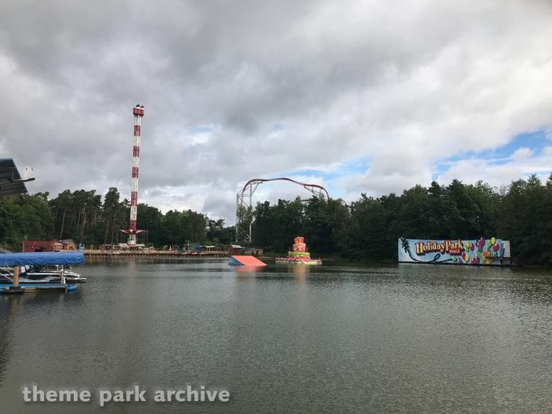 Water Ski Show at Holiday Park