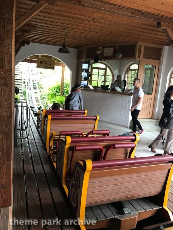 G sengte Sau at Erlebnispark Tripsdrill