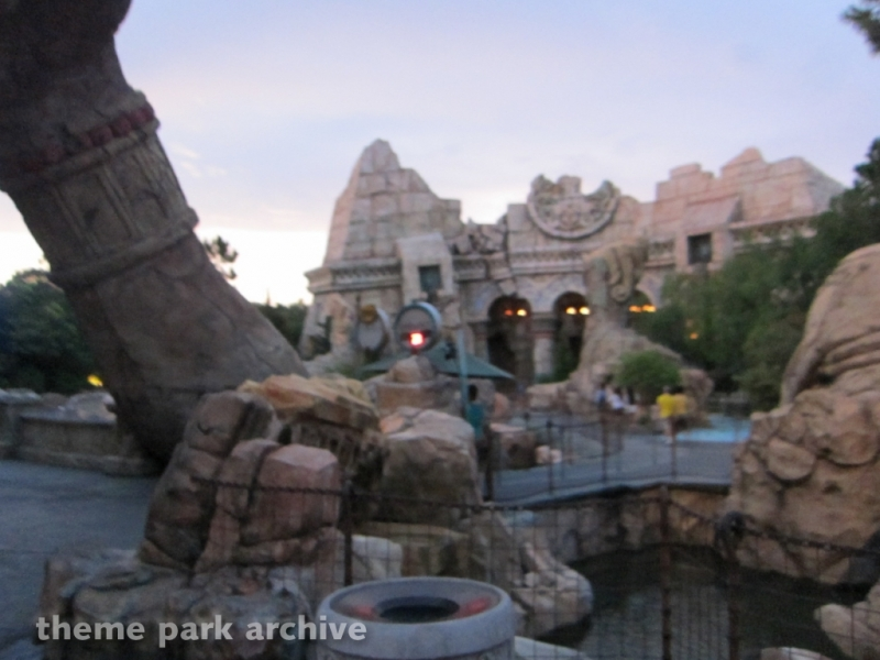 Poseidon's Fury at Universal Islands of Adventure