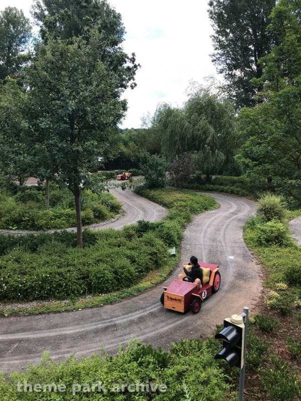 Seifenkisten Rennen at Erlebnispark Tripsdrill