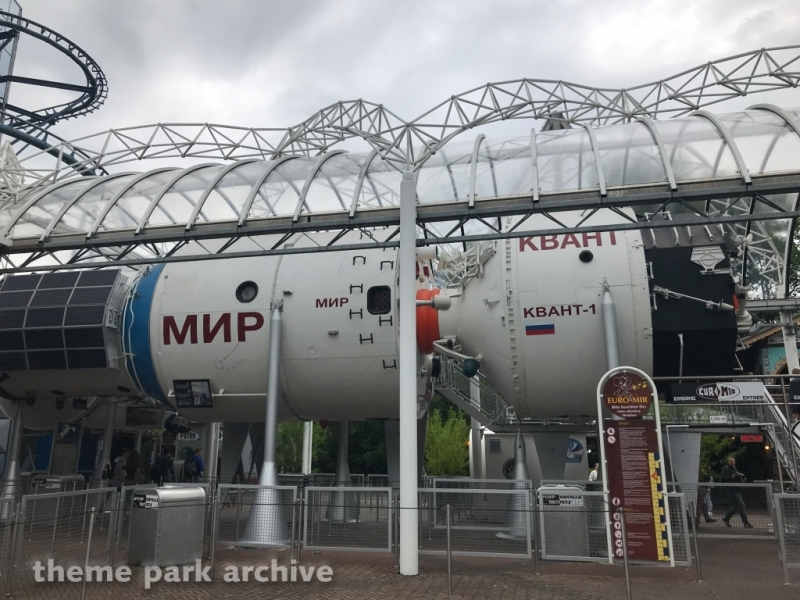 Mir Space Station at Europa Park