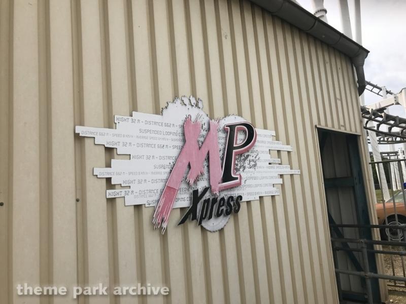 MP Xpress at Movie Park Germany