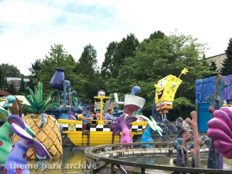 SpongeBob Splash Bash at Movie Park Germany