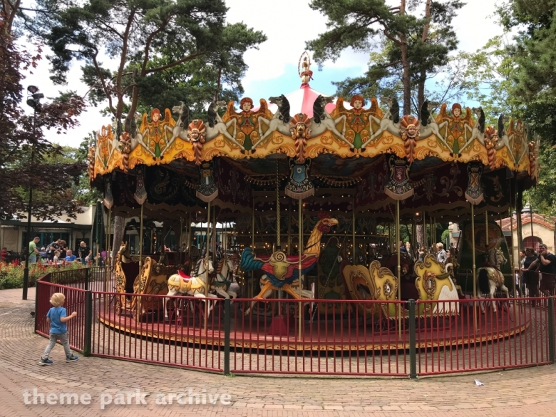 Stoomcarrousel at Efteling
