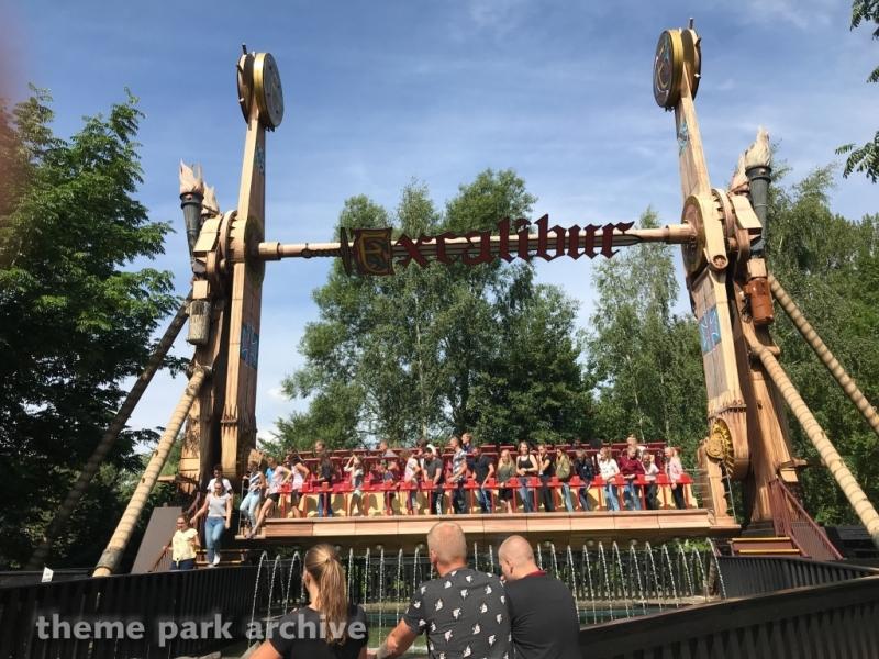 Excalibur at Walibi Holland