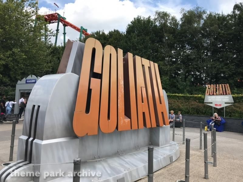 Goliath at Walibi Holland