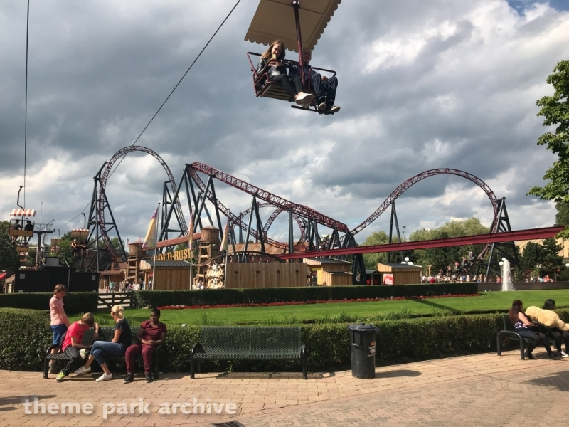 Cable Car at Attractiepark Slagharen