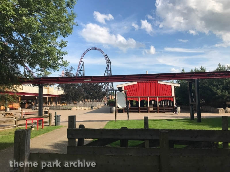 Monorail at Attractiepark Slagharen