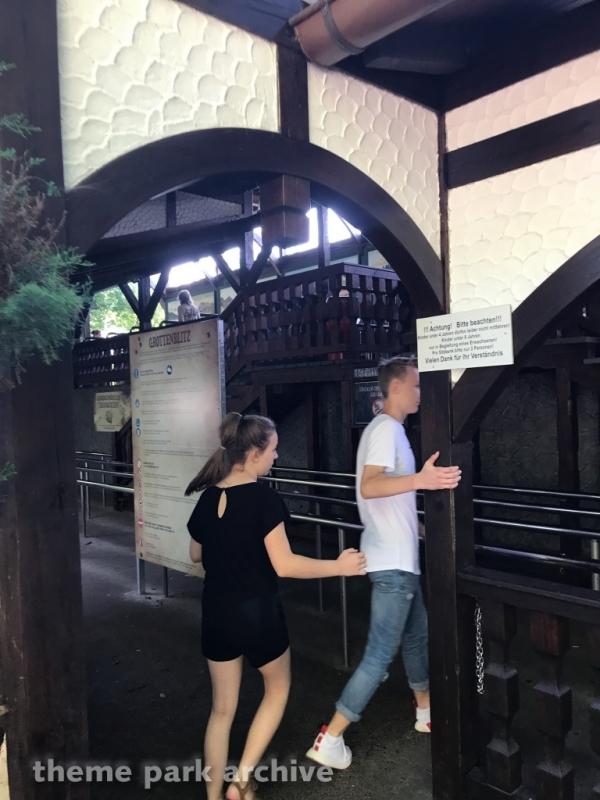Grottenblitz at Heide Park