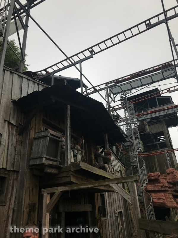 Crazy Mine at Hansa Park