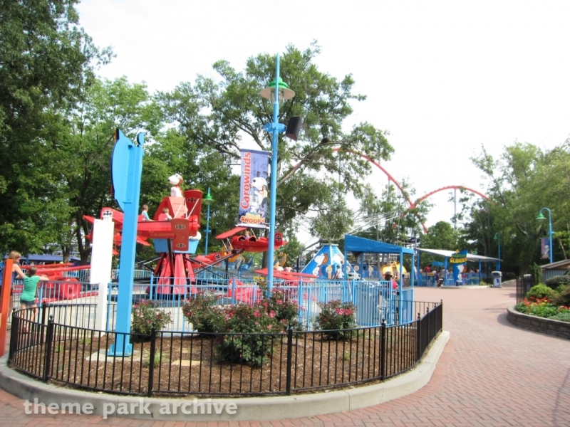 Planet Snoopy at Carowinds
