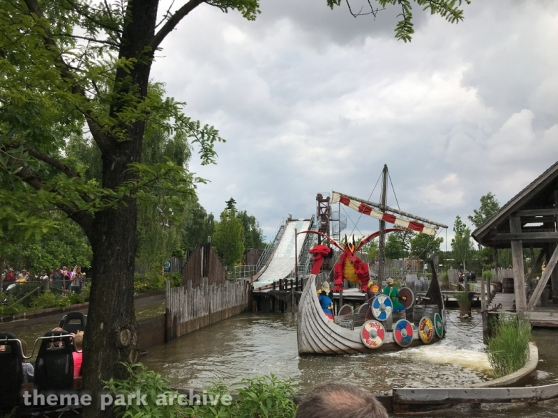 Vikings River Splash at LEGOLAND Billund
