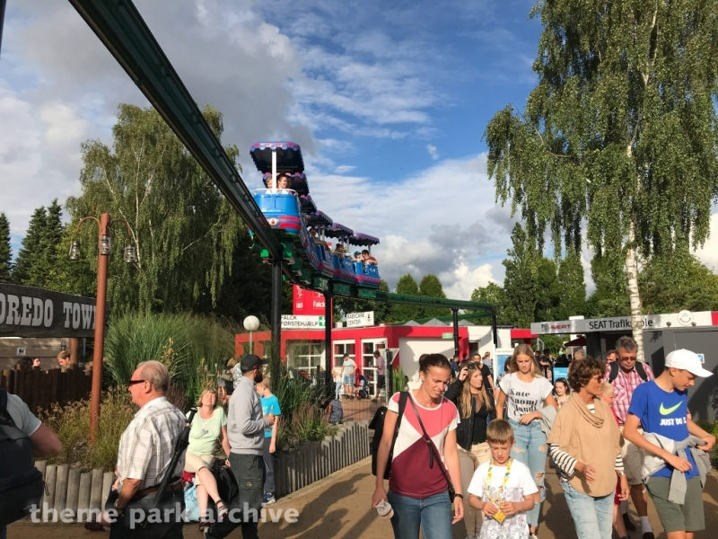 Monorail at LEGOLAND Billund