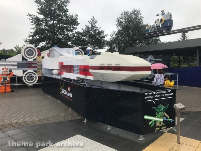 LEGO Star Wars X Wing Starfighter at LEGOLAND Billund