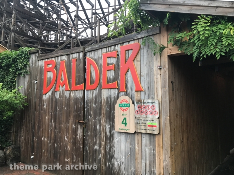 Balder at Liseberg