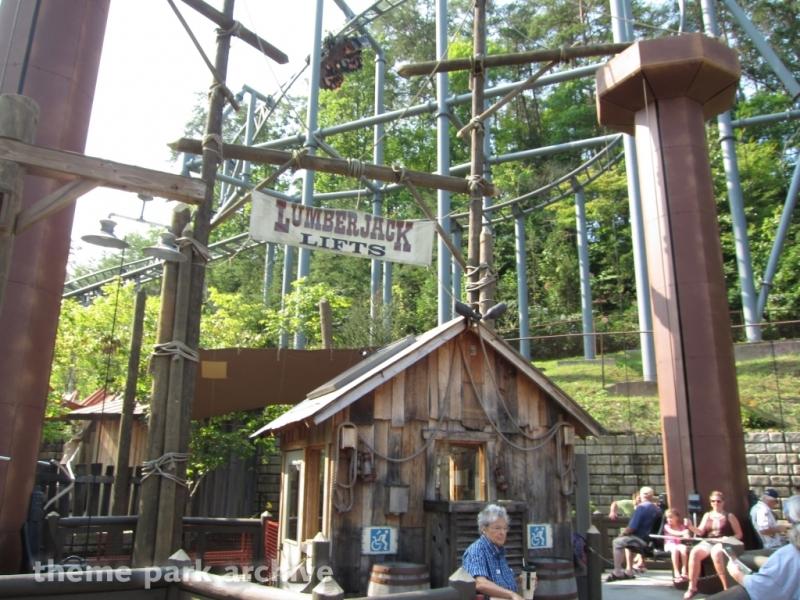 Lumberjack Lifts at Dollywood