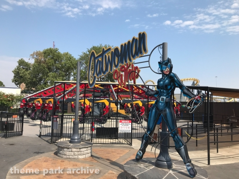 Catwoman Whip at Six Flags Over Texas