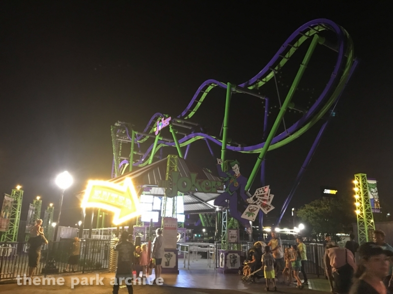 The Joker at Six Flags Over Texas