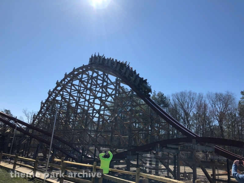 Twisted Timbers at Kings Dominion