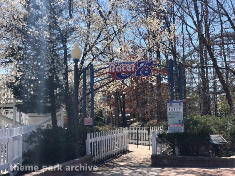 Racer 75 at Kings Dominion