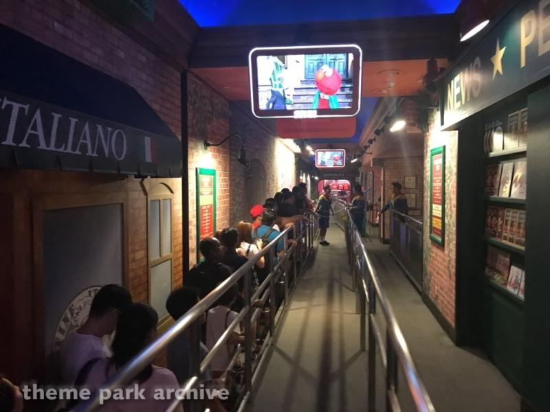 Sesame Street Spaghetti Space Chase at Universal Studios Singapore