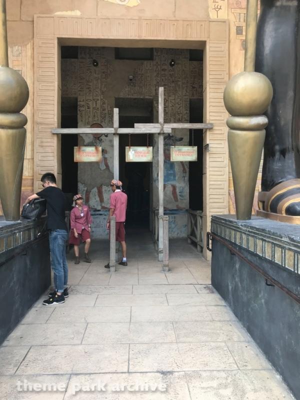 Revenge of the Mummy at Universal Studios Singapore