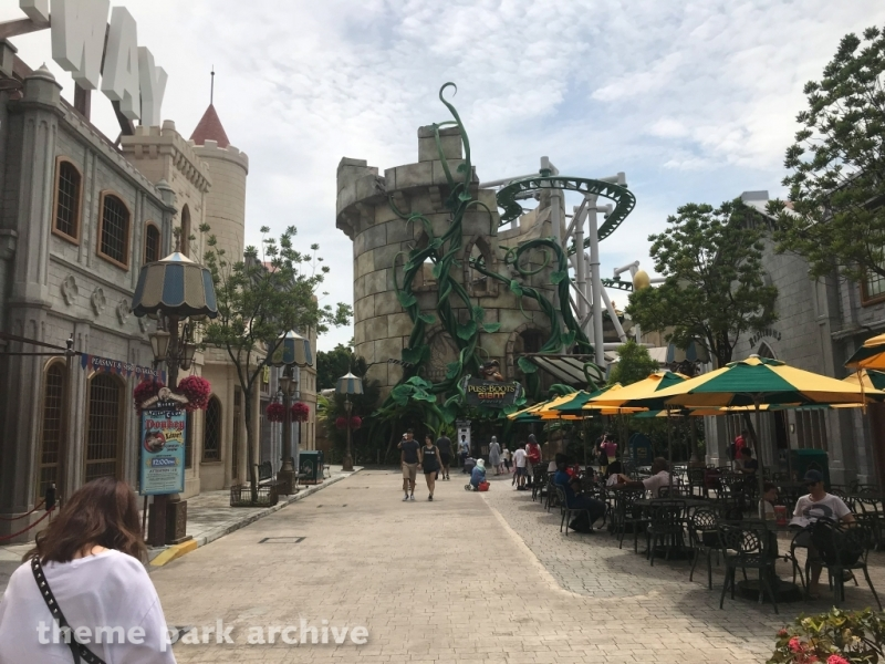 Far Far Away at Universal Studios Singapore