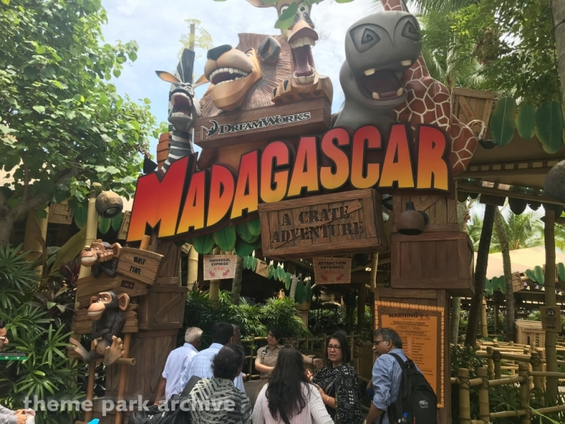 Madagascar A Crate Adventure at Universal Studios Singapore