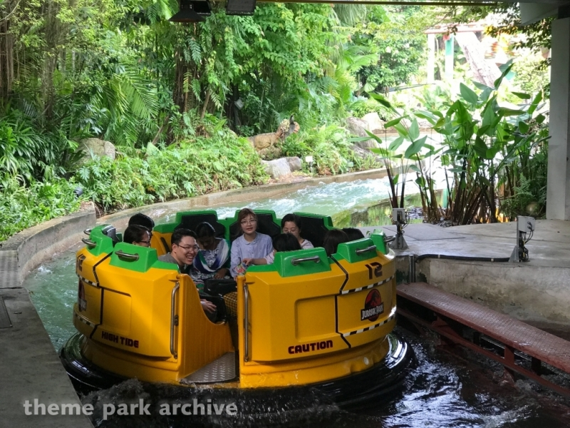 Jurassic Park Rapids Adventure at Universal Studios Singapore
