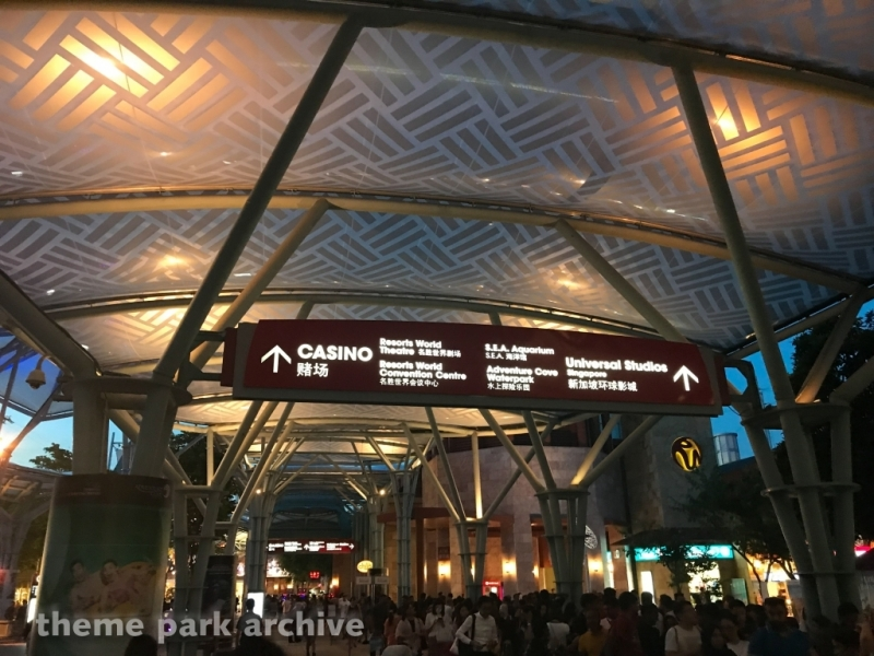 Sentosa at Universal Studios Singapore