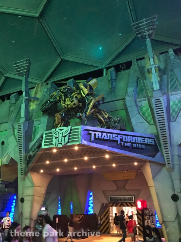 Transformers The Ride 4D at Universal Studios Singapore