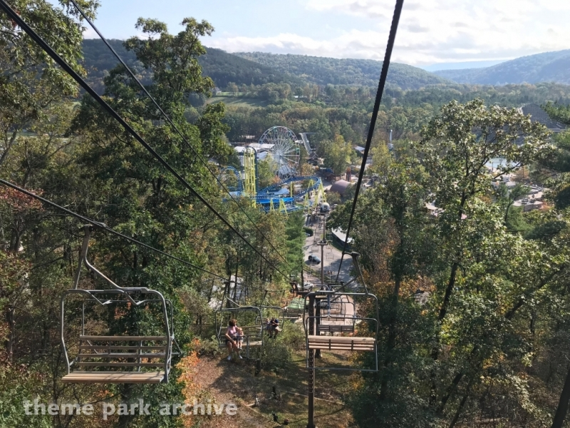 Skyride at Knoebels Amusement Resort