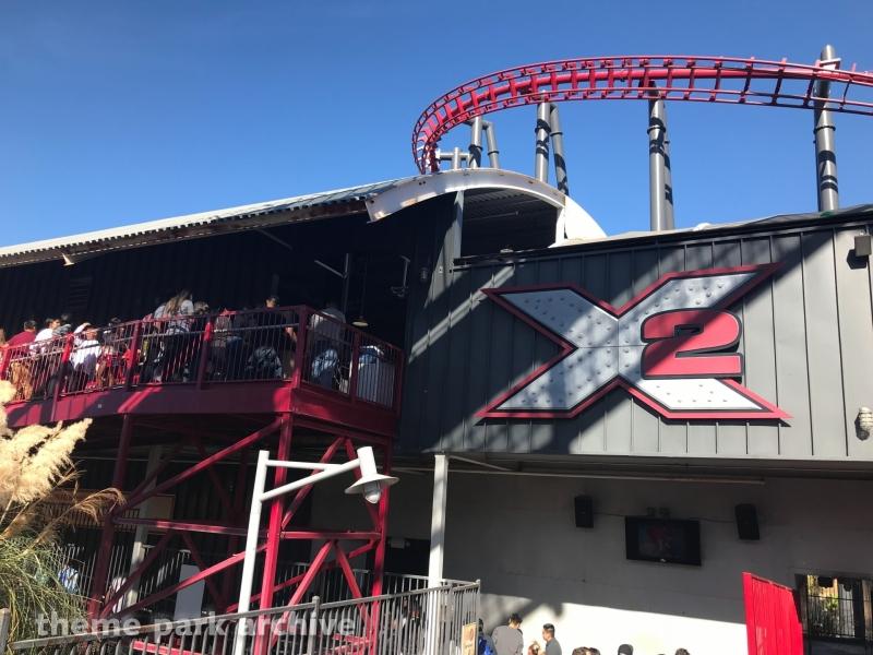 X2 at Six Flags Magic Mountain