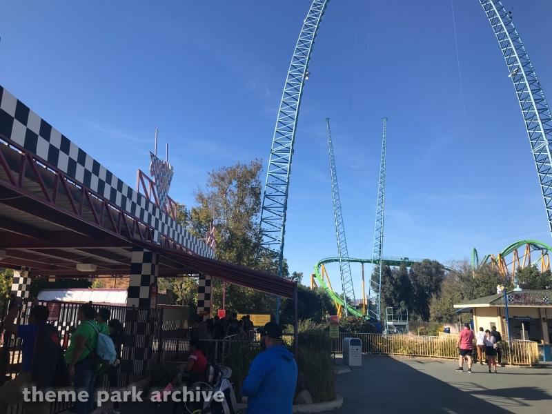 Cyclone 500 at Six Flags Magic Mountain