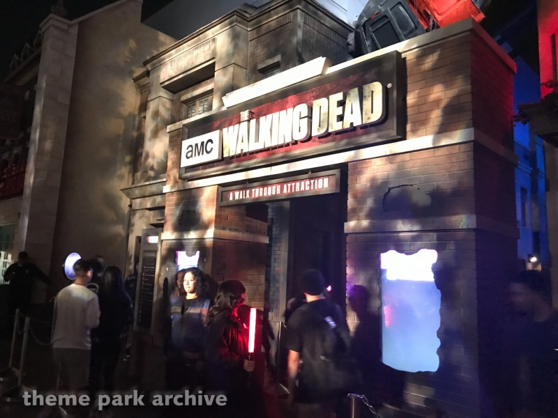The Walking Dead at Universal Studios Hollywood