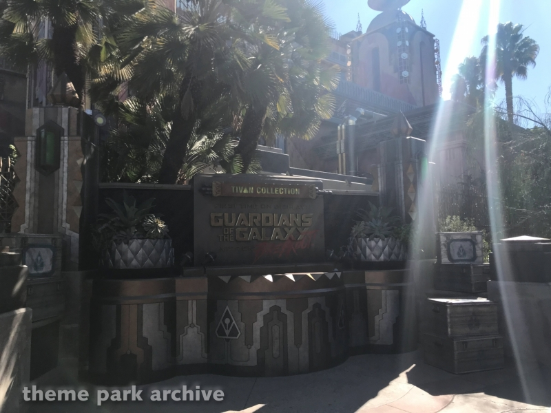 Guardians of the Galaxy: Mission Breakout at Disney California Adventure