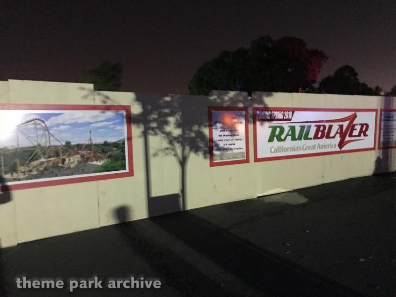 RailBlazer at California's Great America