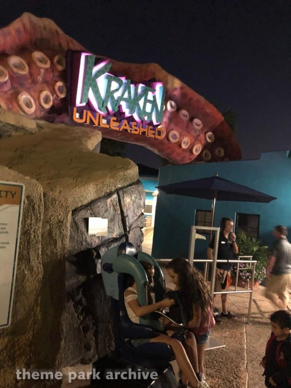 Kraken at Sea World Orlando