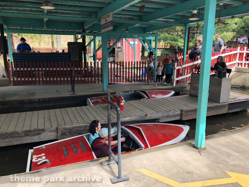 Motor Boats at Knoebels Amusement Resort