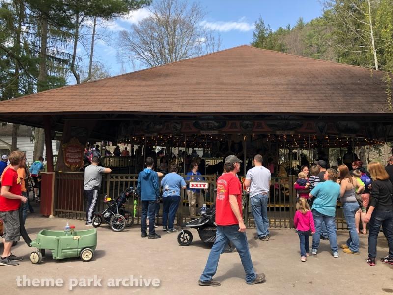 S & G Carousel at Knoebels Amusement Resort