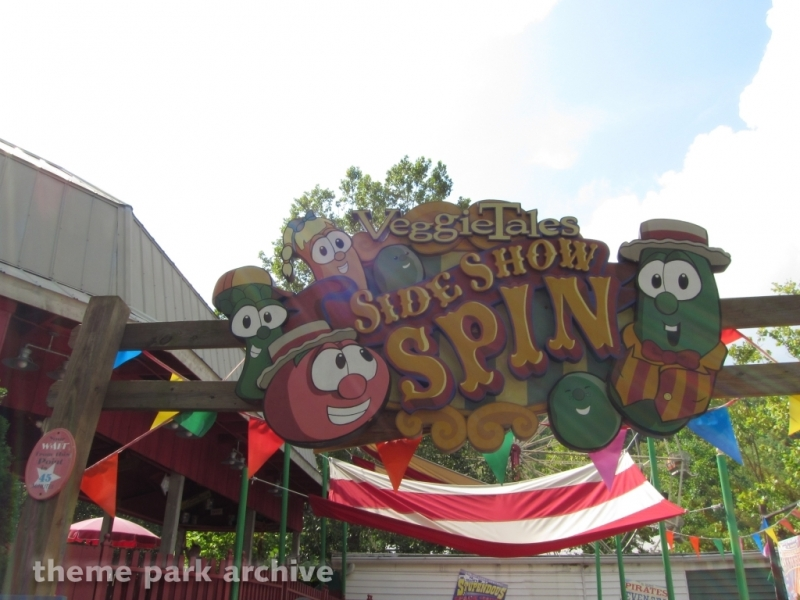 Veggie Tales Side Show Spin at Dollywood